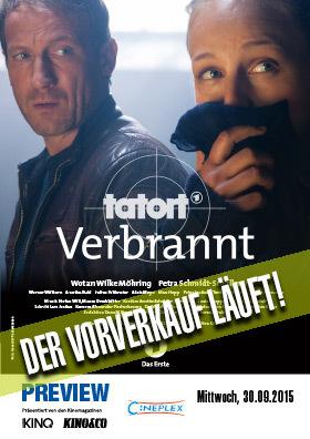 "30.09. - Tatort Preview - ""Verbrannt"" mit Wotan Wilke Möhring"
