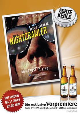 Echte Kerle Preview NIGHTCRAWLER - JEDE NACHT HAT IHREN PREIS