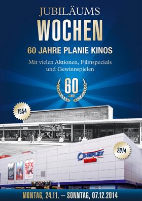 60 JAHRE PLANIE KINOS - Jubiläumswochen