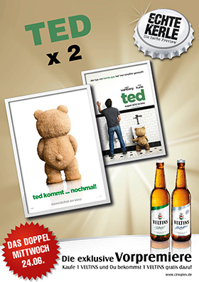 "Echte Kerle Preview und Doppel: ""Ted 2"""