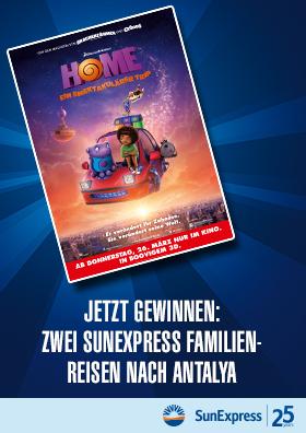 Home - Ein smektakulärer Trip - Gewinnspiel!