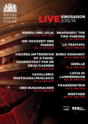 Royal Opera House - Saison 2015/16
