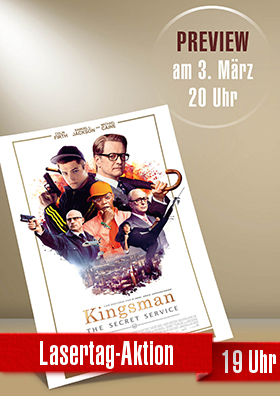"""Preview """"Kingsman - The Secret Service"""""""