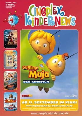 Die aktuelle Ausgabe der Cineple KinderNews ist da