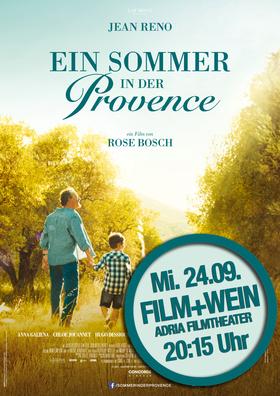 Im Adria Filmtheater: Film und Wein Preview am 24.09.