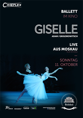 Bolshoi: GISELLE   11. Oktober