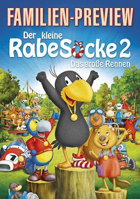 Familien-Preview: DER KLEINE RABE SOCKE 2 - DAS GROSSE RENNEN
