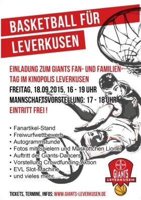 Bayer Giants Fan- und Familien-Tag