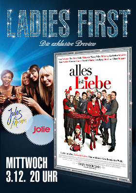 Ladies-First-Preview: Alles ist Liebe