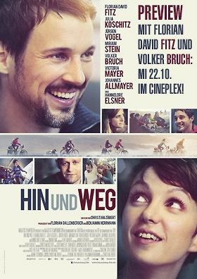 Preview: HIN UND WEG mit Florian David Fitz und Volker Bruch!