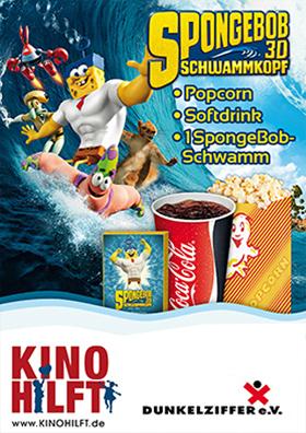 Aktion KINO HILFT mit Spongebob Schwammkopf 3D