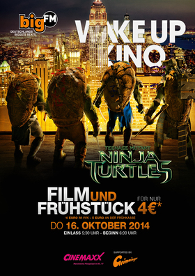 BigFM WakeUp Kino: Teenage Mutant Ninja Turtles