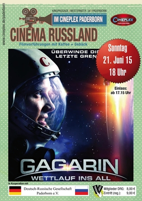 Cinema Russland: Gagarin - Wettlauf im All (Rus 2013)