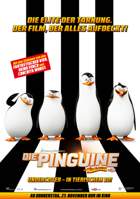 Walking Act Tour: Die Pinguine aus Madagascar