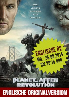 Englische Originalversion - Planet der Affen - Revolution