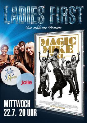 "Ladies First ""Magic Mike XXL"" am 22.07."