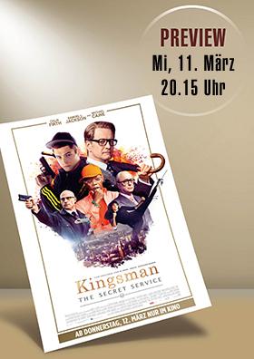 VORPREMIERE: Kingsman - The Secret Service