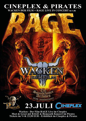 Metal meets Movie: Wacken - Louder than Hell & RAGE Konzert