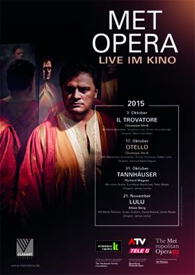 Verdi´s OTELLO als zweite Oper der MET Saison 2015/2016