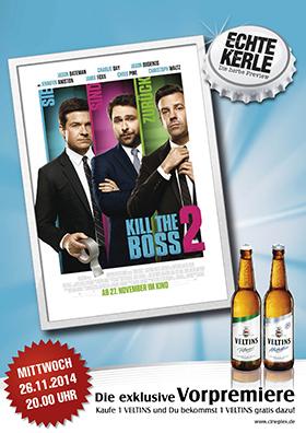 26.11. - Echte Kerle: Kill the Boss 2