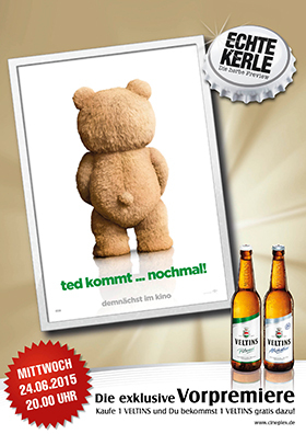 Echte-Kerle-Preview: TED 2 am 24.06.