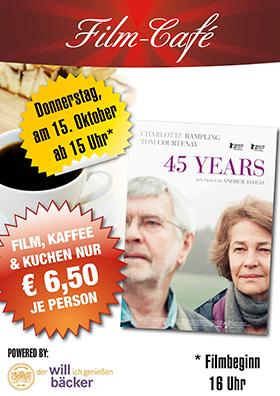 "Film-Café ""45 Years"""