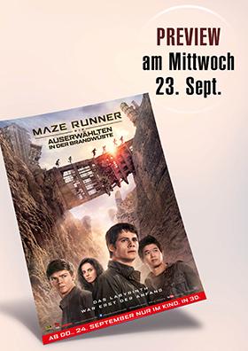 """Preview """" Maze Runner - Die Auserwählten in der Brandwüste """""""