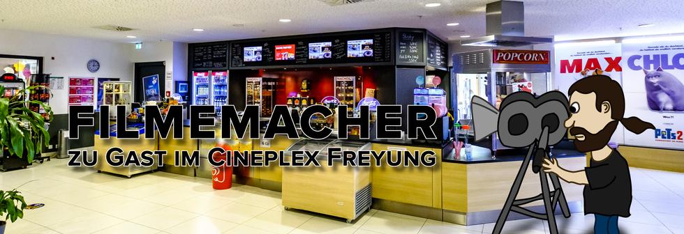 Filmemacher im Kino