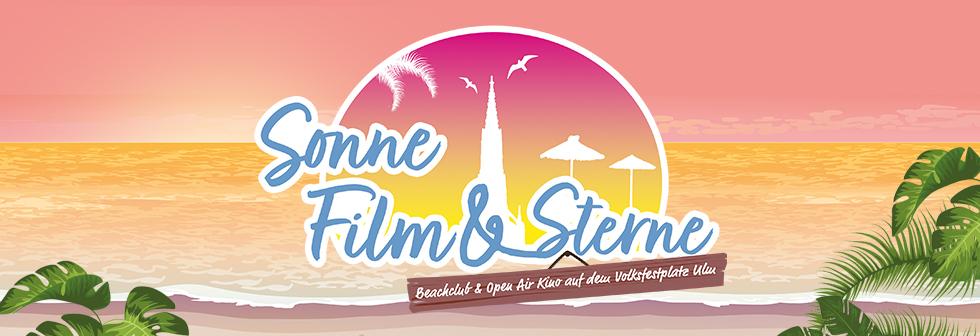 Sonne, Film & Sterne - Beachclub & Open Air Kino auf dem Volksfestplatz Ulm