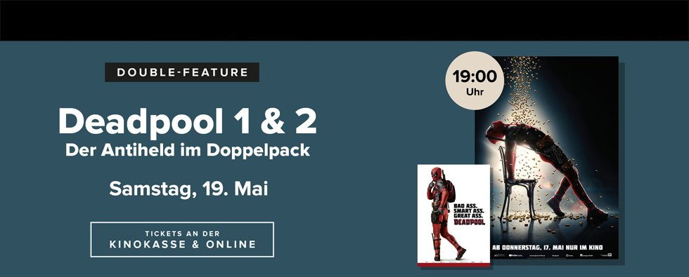 Double Feature: Deadpool 1 + 2