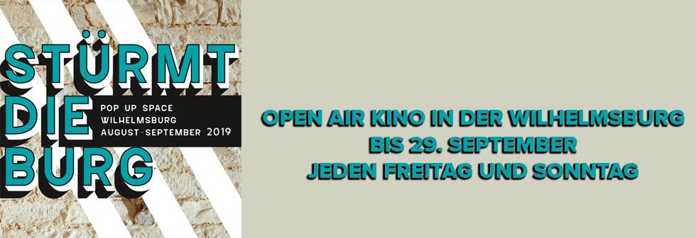 Stürmt die Burg - Open Air Kino