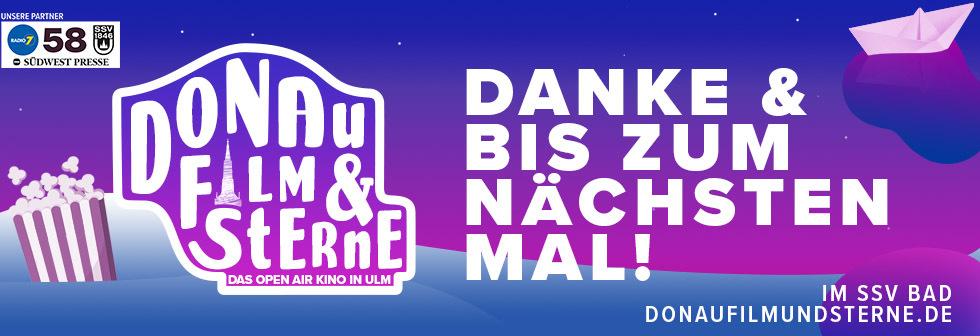 Donau, Film & Sterne - Das Open Air Kino in Ulm