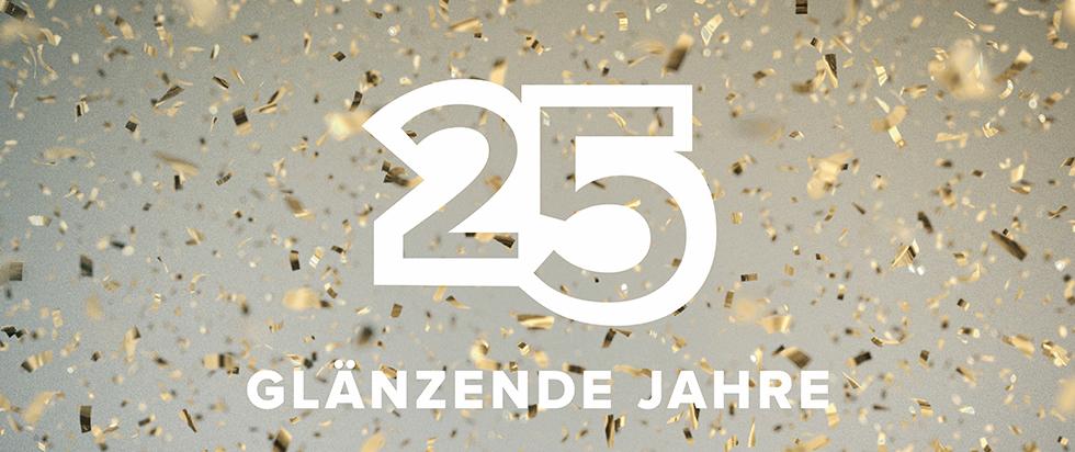 25 GLÄNZENDE JAHRE